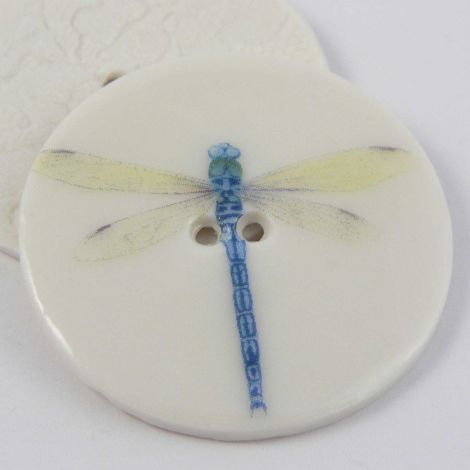 38mm Ceramic Dragonfly 2 Hole Button