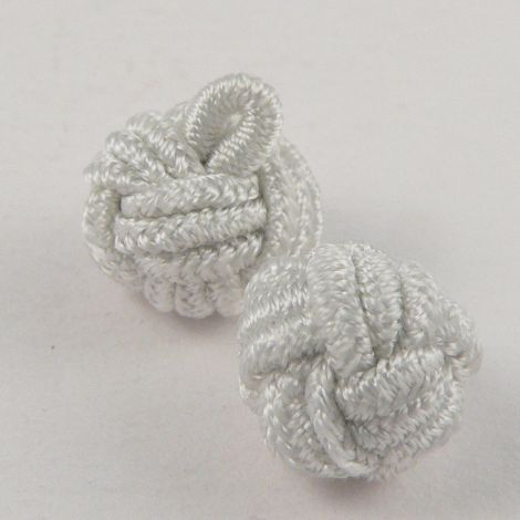 10mm Ivory Chinese Knot Ribbon Shank Button