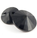 14mm Swarovski Austrian Crystal Jet Black Shank Button