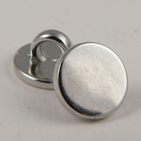 10mm Chrome Metal Shank Upholstery Button