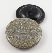 26mm Gold & Silver Glittery Shank Coat Button