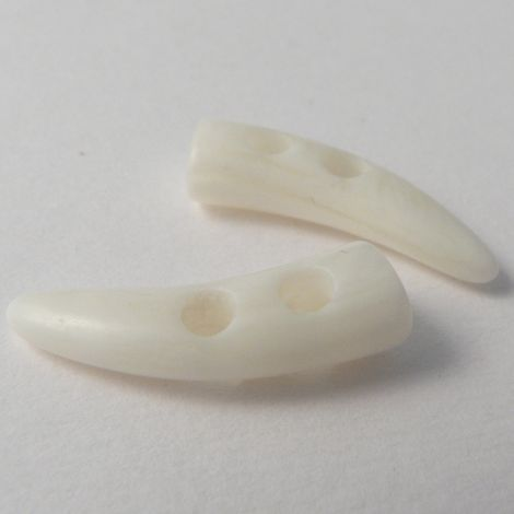 24mm Marble Effect Toggle 2 Hole Sewing Button