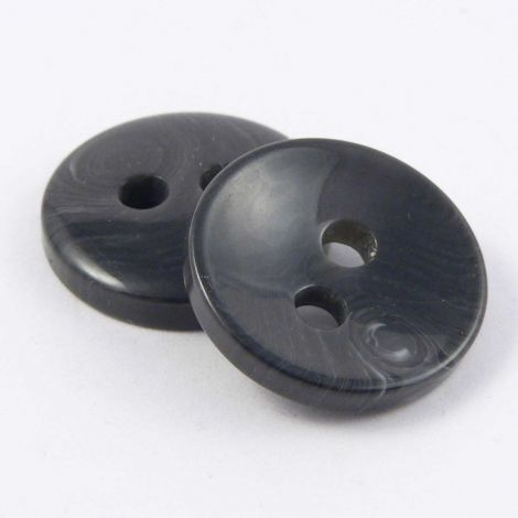 20mm Grey Marble Contemporary 2 Hole Sewing Button