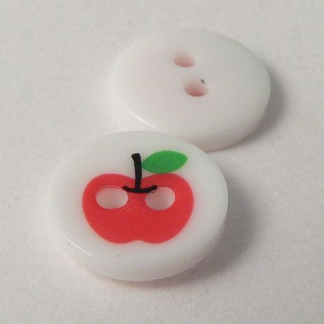 11mm Apple 2 Hole Button