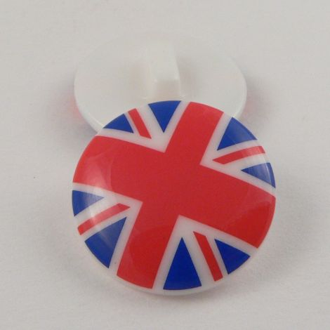 15mm Union Jack Shank Sewing  Button
