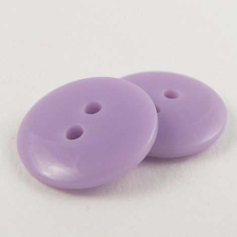12mm Lilac Plastic 2 Hole Sewing Button
