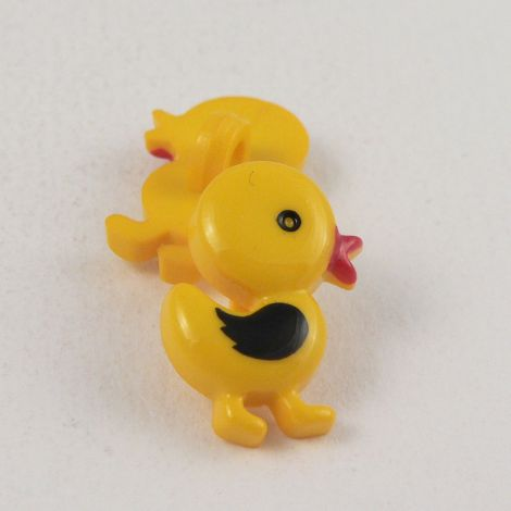 12mm Cute Yellow Duck Shank Button