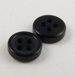 6mm Black Shirt 4 Hole Button