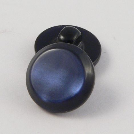 11mm Pearly Navy Shank  Button