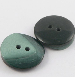 25mm Green Retro 2 Hole Coat Button
