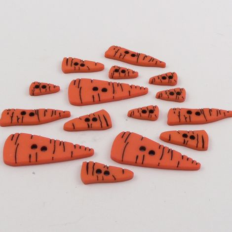Dress It Up 'Carrot Noses' Button Pack
