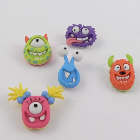 Dress It Up 'Mad For Monsters' Button Pack