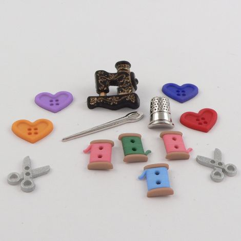 Dress It Up 'For The Love Of Quilting' Button Pack