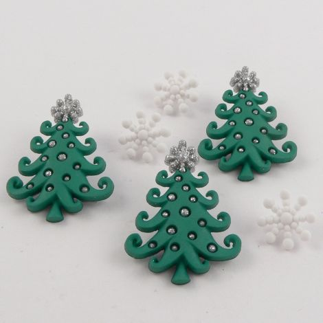 Dress It Up 'Whimsical Christmas' Button Pack
