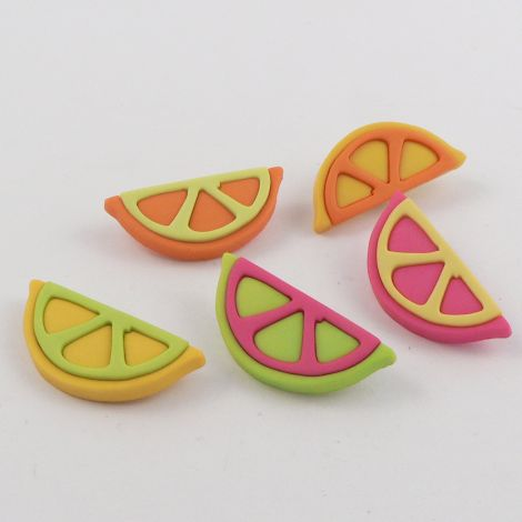 Dress It Up 'Fruit Slices' Button Pack