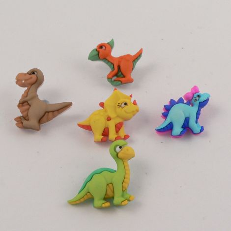 Dress It Up 'Dino-Mite' Button Pack
