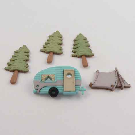 Dress It Up 'Hittin' The trail' Button Pack