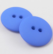 12mm Royal Blue Matt Smartie Style 2 Hole Button