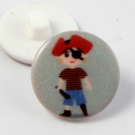 17mm Pirate Shank Button