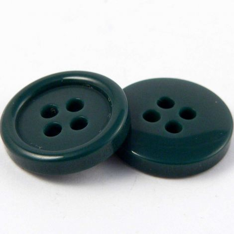 15mm Bottle Green Blazer/Suit 4 Hole Button