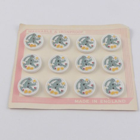 18mm  Rabbit Vintage Novelty Button