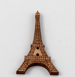 23mm Eiffel Tower Wood 2 Hole Button