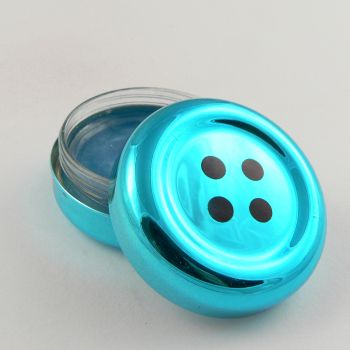 42mm Blueberry flavoured 4 Hole Button Pot of Lip Gloss
