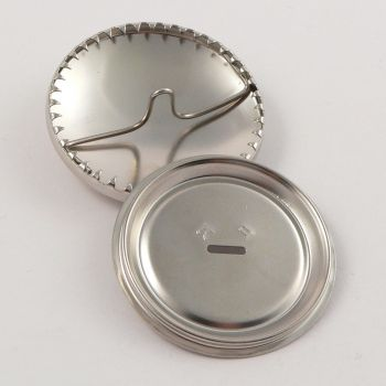 22mm Metal Shell Blank Shank Button
