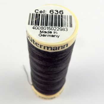 Grey Thread Gutermann 636