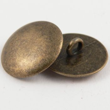 20mm Solid Slightly Domed Upholstery Metal Shank Button