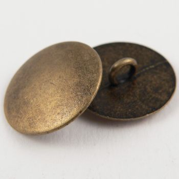 18mm Solid Slightly Domed Upholstery Metal Shank Button
