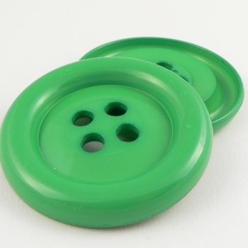 65mm Extra Large Green Chunky 4 Hole Sewing Button