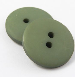 23mm Green Matt Smartie Style 2 Hole Button