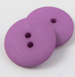 18mm Magenta Matt Smartie Style 2 Hole Button