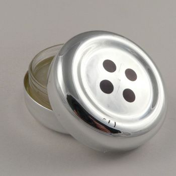 42mm Vanilla Flavoured 4 Hole Button Pot of Lip Gloss