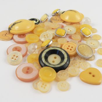 The Yellow Collection Assorted 50g Button Pack